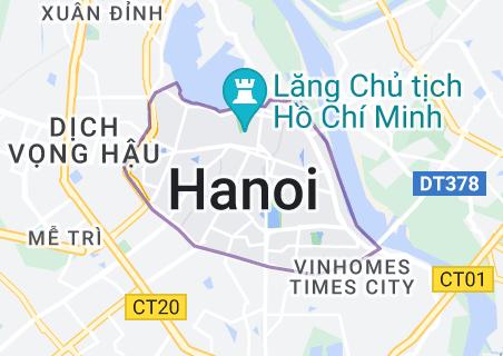 Map of Hanoi